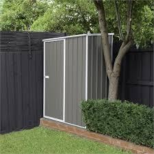 x 0 77 x 1 9m grey garden shed