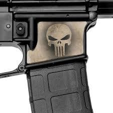 Ar15 Lower Decal Punisher Cross Bones Vinyl Decal Ar 15 Sniper Sticker 2 Pack Sporting Goods Decals Stickers Romeinformation It