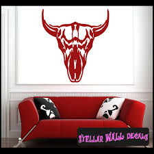 Skull Indian Native Tribal Southwest Scenery Vinyl Wall Decal Wall Mural Car Sticker Scenerysouthwestst055 Swd