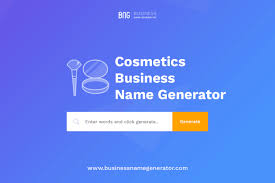 cosmetics pany name generator