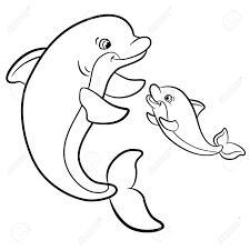 Kleurplaat Dolfijn Maak Mooie Tekeningen Van Dit Prachtige Dier