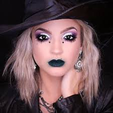 makeup ideas for a pretty witch