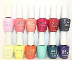 opi gelcolor gel nail polish lisbon