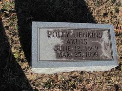 Polly Jenkins Akins (1869-1899) - Find A Grave Memorial