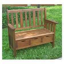 outdoor storage bench seat drawers
