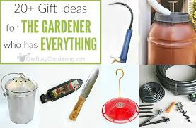 20 fabulous gifts for the gardener who