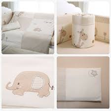 7pcs baby crib bedding set pers