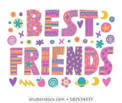 imagenes fotos de stock y vectores sobre best friends art