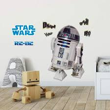 Star Wars Classic R2d2 Lifesize Wall Decal Us Wall Decor