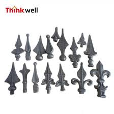 China Low Price Ornamental Cast Wrought Iron Fence Parts Iron Fence Finials China Ornamental Cast Iron Fence Finials And Cast Fence Finals Price