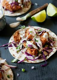 Crispy Fish Tacos with Red Cabbage Slaw ...