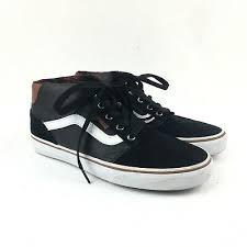 vans sk8 sneakers shoes mens 8 black