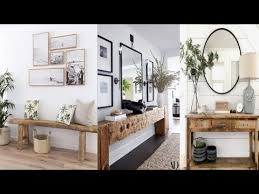 2019 modern console table with mirror