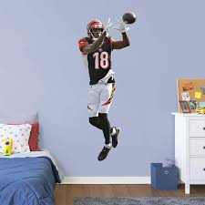 Aj Green Officially Licensed Nfl Removable Wall Decal
