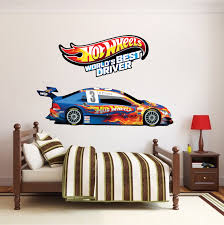 Race Car Boys Room Decals Race Car Wallpaper Boys Room Wall Murals Race Track Wall Stickers Primedecals