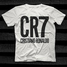 cristiano ronaldo white uni t shirt
