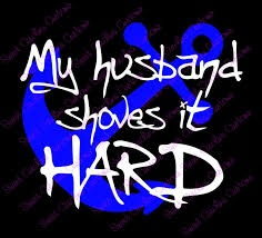 My Husband Shoves It Hard Towboater 39 S Wife Car Decal Used Boats Husband Silhouette Cameo Crafts