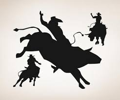 Vinyl Wall Decal Sticker Rodeo Time Os Aa410 Stickerbrand