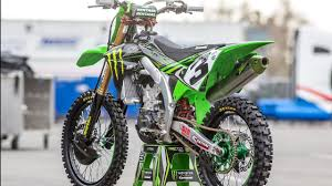 Inside Eli Tomac S Monster Energy Kawasaki Kx450f Motocross Action Magazine Youtube