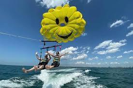 parasailing the p trere island
