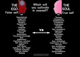 the ego false self vs the soul true self which will you
