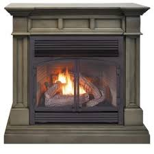 ventless dual fuel fireplace