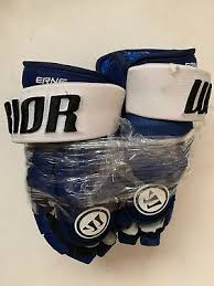ADAM ERNE Tampa Bay Lightning Game Used Gloves 2017-2018 Season COA | eBay