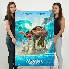 Disney Moana Movie Block Giant Wall Art Poster