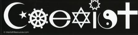 Coexist Removable Bumper Sticker Baha I Resources