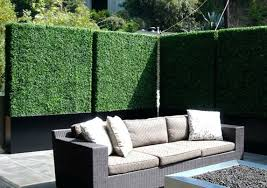 Artificial Hedge Fake Hedge Plastic Plants Green Wall Faux Foliage Leaf Living Gardens And Decor