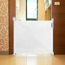 Safetots Advanced Retractable Dog Gate Wide Pet Gate Extra Wide Indoor Barrier Ebay