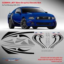 Mustang Cobra Jet Decals Metallic