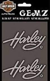 Amazon Com Harley Davidson Die Cutz Harley Script Decal White Vinyl Cg40002 Harley Davidson Automotive