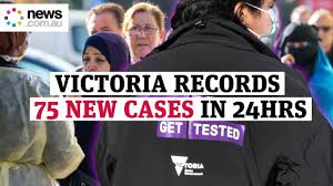 Victoria records 75 new COVID-19 cases ...
