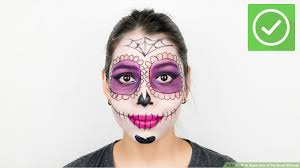 how to apply day of the dead makeup 14