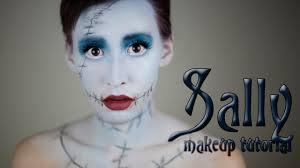 sally nightmare before inspired makeup
