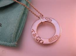 1837 circle pendant chain