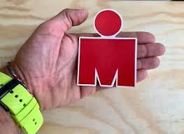 Ironman Red M Dot Triathlon Sticker 4 Swim Bike Run Tri Car Decal 140 6 70 3 Ebay