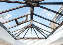 glass roof cost t frameless