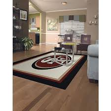san francisco 49ers spirt area rug