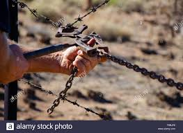 Barb Wire Fence High Resolution Stock Photography And Images Alamy
