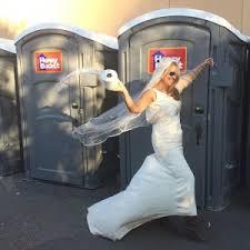 porta potty do i need for my wedding