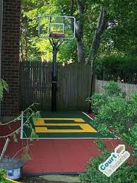 Small Backyard Basketball Court Contemporary Home Gym Columbus By Court Tile Discounters