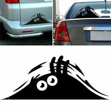 Peeking Monster Scary Eyes Decal Sticker Funny Vinyl Car Window Bumper Truck 7 Ebay