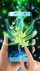 neon smoke weed live wallpaper apk for