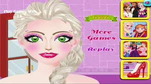 elsa party makeup disney frozen elsa