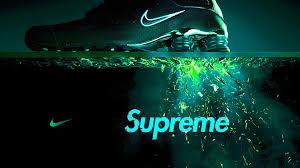 nike supreme wallpaper