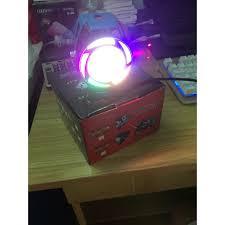 Đèn pha led trợ sáng U7 cho xe máy GreenNetworks ( 7 màu)