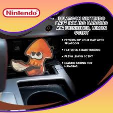 Splatoon Nintendo Baby Inkling Hanging Air Freshener Lemon Scent Walmart Com Walmart Com