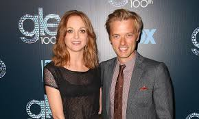 Glee's Jayma Mays welcomes first child with husband Adam Campbell ...